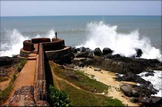 Bekal Fort at Kasargod